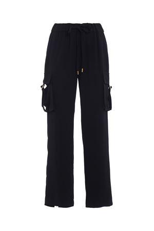 Pantaloni larghi cargo in cady MICHAEL DI MICHAEL KORS | 20000005 | MU73GVY6BZ001