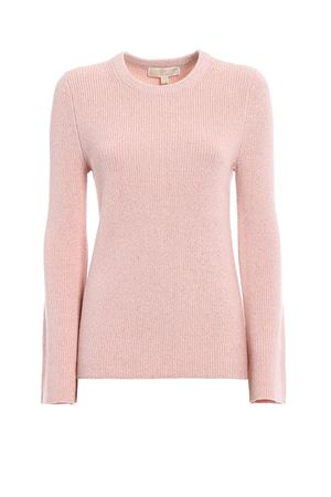 Shimmering crew neck sweater MICHAEL DI MICHAEL KORS | -108764232 | MU76NBP4VE683