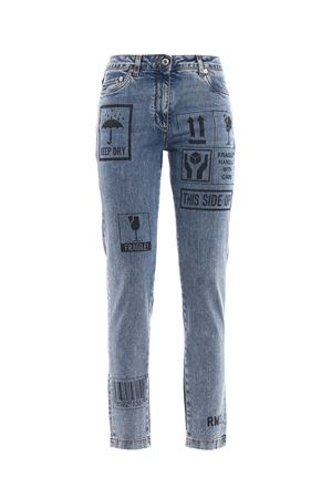 Printed faded jeans MOSCHINO | 24 | 031554201310