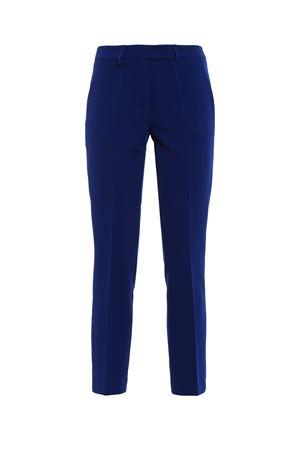 Pantaloni blu a sigaretta stretch PAOLO FIORILLO CAPRI | 20000005 | 1328BI2156COBALTO