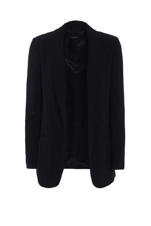 Black open front structured blazer PAOLO FIORILLO CAPRI   3   14372531019