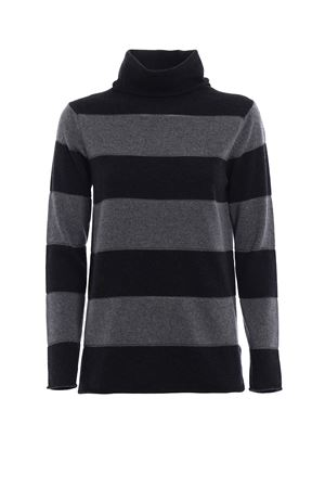 Striped wool blend turtleneck PAOLO FIORILLO CAPRI | 10000016 | 45400534