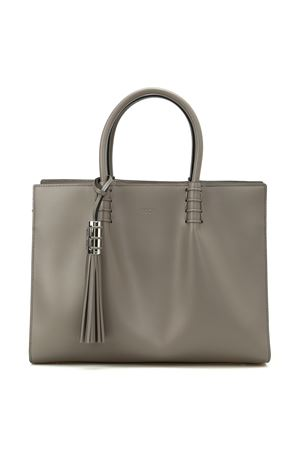 Smooth leather medium shopping bag TOD