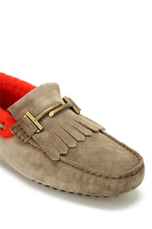 Gommino Driving moccasin in sheepskin TOD