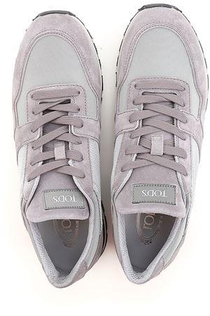 Multi fabric running sneaker TOD
