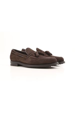 Tassels detailed suede loafers TOD