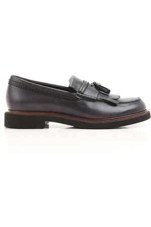 Glossy leather loafers TOD