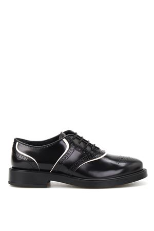 Brushed leather Oxford brogues TOD
