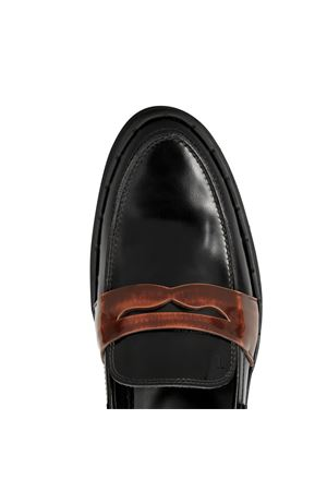 Tapered loafers with maxi sole TOD