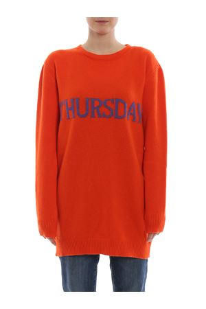 Thursday orange long crewneck ALBERTA FERRETTI | 20000006 | 04856602J1041