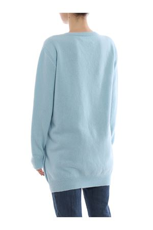 Monday light blue long crewneck ALBERTA FERRETTI | 20000006 | 04856602J1306