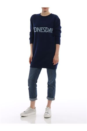 Wednesday blue long crewneck ALBERTA FERRETTI | 20000006 | 04856602J1342