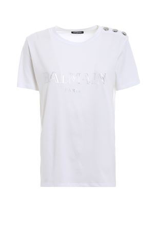 t-shirt construction BALMAIN | 8 | PF01000I015C0001