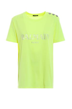 t-shirt construction BALMAIN | 8 | PF01000I015C0530