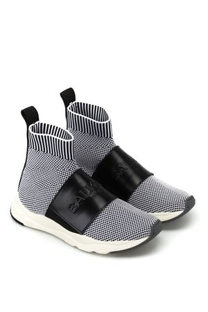 running cameron knit and le BALMAIN | 12 | W8FC635PZLN181