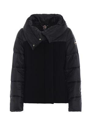 Black wool nylon puffer jacket COLMAR | 783955909 | 20353SR99
