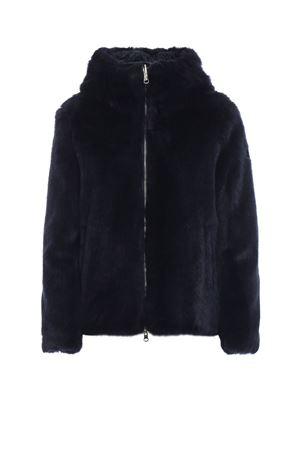 Blue faux fur jacket COLMAR | 3 | 2039E7SR68