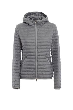 Hooded grey puffer jacket COLMAR | 783955909 | 2224R8RQ158