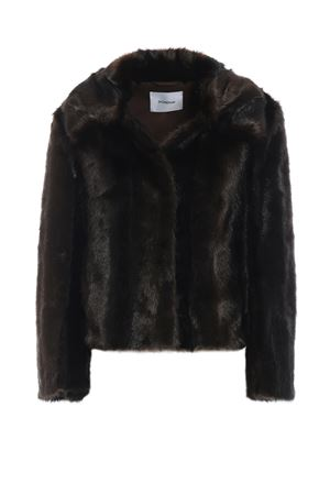 Soft faux fur jacket with pointy collar DONDUP | 3 | DJ137PL0196XXXPDD730