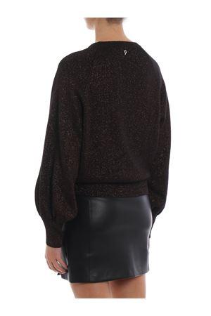 Girocollo in misto lana con lurex DONDUP | 20000006 | DM211M00601002PDD999Z
