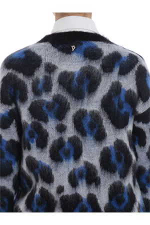 Maglione in misto mohair jacquard animalier DONDUP | 20000006 | DM257M00623002MD000