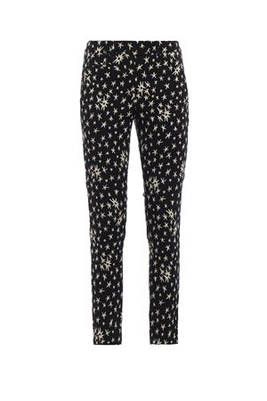 Perfect jacquard cotton blend trousers DONDUP | 20000005 | DP066FS0166XXXPDD999