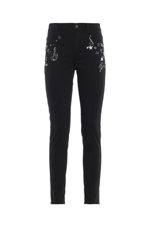 Appetite super skinny jeans with applications DONDUP | 24 | DP237GS0023PTDRPDD999