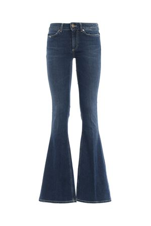 Akon skinny bootcut high waisted jeans DONDUP | 24 | DP241DS0199T68GPDD800
