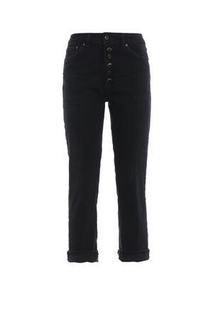 Jeans neri Koons in denim macchiato DP268DS0198T77BPDD999 DONDUP | 24 | DP268DS0198T77BPDD999