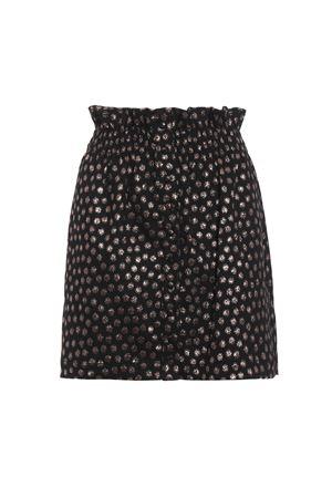 Glowing polka dot gathered mini skirt DONDUP | 15 | G392FF0298XXXPDD720