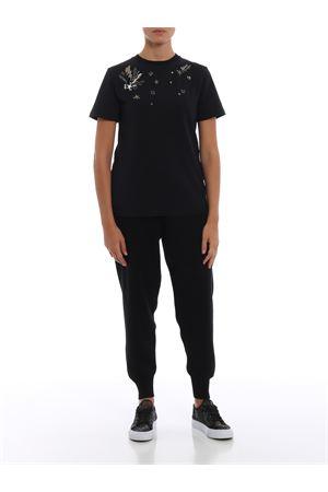 T-shirt in jersey con applicazioni DONDUP   8   S746JS0205Q71PDD999