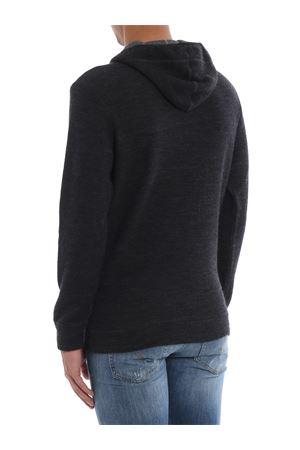 Hoodie-inspired grey merino wool pullover DONDUP | -1384759495 | UF550KF0155002DU997