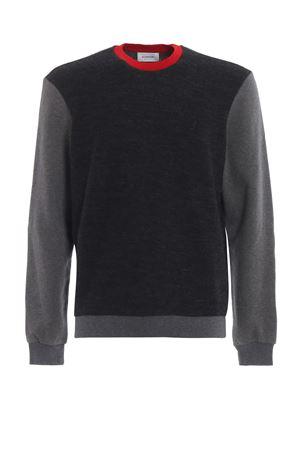Sweatshirt-inspired merino wool crewneck DONDUP | 20000006 | UF552KF0155002DU997