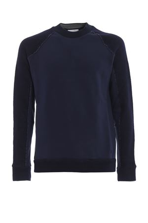 Cotton jersey and wool crew neck sweatshirt DONDUP | -108764232 | UF555KF0155002DU897