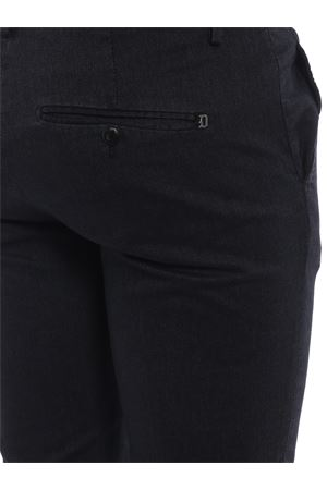 Pantaloni Gaubert cotone blu scuro con motivo DONDUP | 20000005 | UP235AS0042PTDDU897