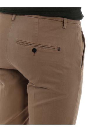 Solid beige cotton blend Gaubert slacks DONDUP | 20000005 | UP235GS0036PTDDU728