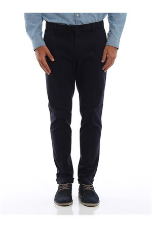 Pantaloni Gaubert blu scuri in misto cotone DONDUP | 20000005 | UP235GS0036PTDDU897
