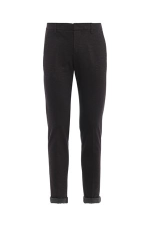 Pantaloni Gaubert in cotone con micro motivo UP235QS0088XXXDU998 DONDUP | 20000005 | UP235QS0088XXXDU998