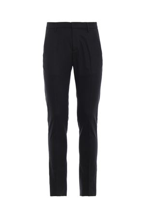 Pantaloni chino in lana stretch grigio scuro DONDUP | 20000005 | UP235WS0121XXXDU997