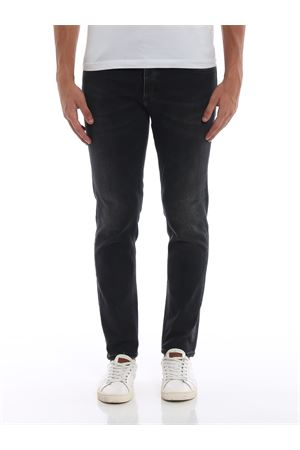 Jeans in denim grigio Nolan con carrot fit DONDUP | 24 | UP500DS0198T32NDU999