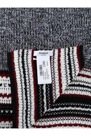 Sciarpa in misto lana specchietti decorativi DONDUP | 77 | WK215M00599002PDD000N