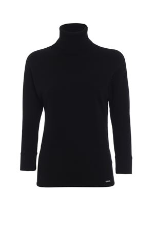 Pullover a lupetto in viscosa stretch DSQUARED2 | -1384759495 | S75HA0813S16337900