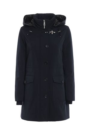 Padded hooded trench coat FAY | 10000013 | NAW1537418SFKHU807