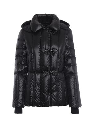 Black padded jacket with removable hood FAY | 783955909 | NAW32373690PVZB999