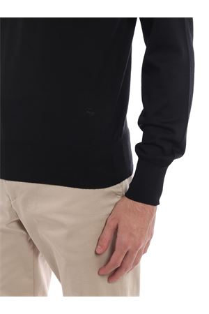 Girocollo in lana finissima nero FAY | 20000006 | NMMC1372660KREB999