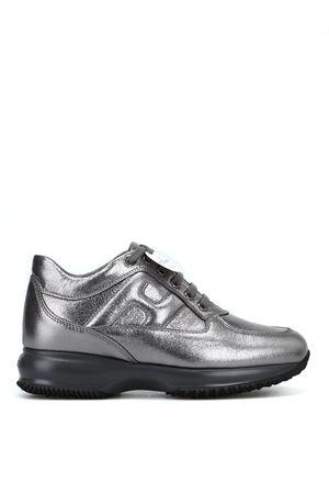 Dark silver leather Interactive HOGAN   120000001   HXW00N00010MECB205