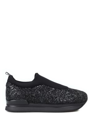 Slip-on H222 in scuba e glitter brillante HOGAN | 5032246 | HXW2220AR40JTVB999