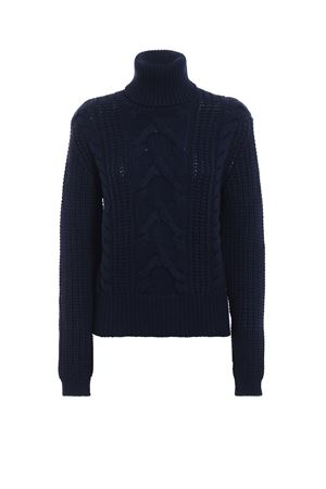 Warm and soft braided wool turtle neck pull JACOB COHEN | 10000016 | J2133F01213N866