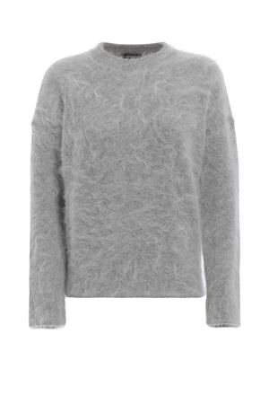 Incredibly soft angora and wool crewneck JACOB COHEN | 7 | J2146F01341N900