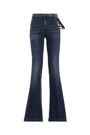 Jade dark wash denim flared jeans JACOB COHEN | 24 | JADE00225W2002